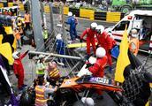 澳门F3比赛出车祸,17岁美女车手失控飞出赛道,现场视频曝光!