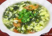 海鲜蛋花汤的配料和做法