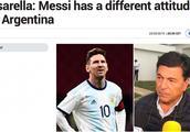 梅西伤退却遭批!阿根廷名宿:他在巴萨和国家队的态度完全不同