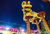 这是一场江南的元宵灯会,惠山古镇赏灯舞狮看激光秀
