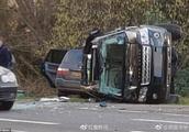 才遇车祸后不到两天 97岁的菲利普亲王又被发现驾车不系安全带