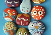 小石头大故事——创意石头画