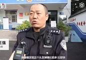 """85后警察""""发际线照""""走红:十年青春转眼即逝"""