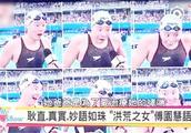 看看台湾综艺节目如何评价傅园慧,宁泽涛!