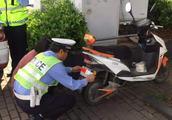 电动自行车上完牌就开始贴罚单?到底是真是假?