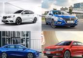 10万紧凑级轿车选哪个?对比荣威i5、大众朗逸、日产轩逸、帝豪GL