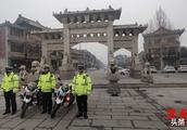华阴交警大队严管、严控全力打好节后交通安全管理攻坚战(图)