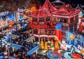 北有600年故宫南有500年豫园 !在上海去豫园看花灯也灿烂