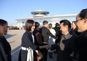 张国立,佟丽娅,张杰等出国访问