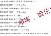 """网传""""海南主要经济指标断崖式下跌"""" 我要说两句"""