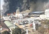 痛心!河南商丘某厂区突发大火 事故已致11人身亡