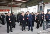太湖县十六届人大代表参观视察县经济开发区