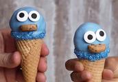 一口就是一个!超可爱蓝鸟小雪糕