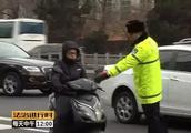 北京交警严查摩托车违章,京B牌摩托最严重