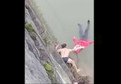 女子将儿女推下河后跳河轻生,涉嫌故意杀人被警方控制