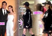 郑嘉颖宣布老婆怀孕后 陈凯琳首次被拍到孕肚明显