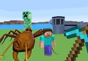 我的世界游戏 吃了坏的食物蚂蚁都变异了