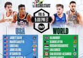 2019年NBA全明星新秀赛阵容公布!东契奇和西蒙斯组队!