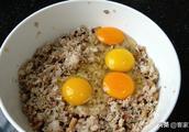糯米中加4个鸡蛋,没想到这么好吃,咸香软糯,孩子大口吃不停