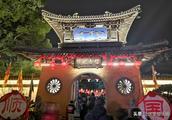 无锡惠山古镇锡惠公园每年的灯展总是人山人海,花灯确实美啊