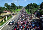 特朗普禁令被批可耻,中美洲移民不为所动,继续北上逼近美国