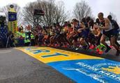 波士顿马拉松赛 肯尼亚选手绝杀夺冠川内无缘前十