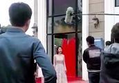 赵丽颖认真拍戏的时候,来看看金瀚在做什么!