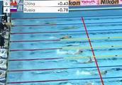 中国队打破4×200米自由泳世界纪录,孙杨游到第一