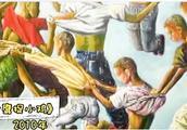"""湖北一农民坚持画画,被称为中国的""""毕加索"""",画作深受好评"""
