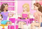 芭比之梦想豪宅:芭比要过生日了,大家送她礼物,但她都拥有了?