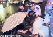 雨夜交通事故案件扑朔迷离,肇事司机疑似酒驾多次失控撞翻行人
