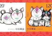 """猪年生肖邮票今日首发 有人提前两天排队""""抢票"""