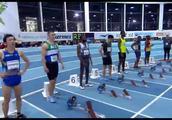 2019爱尔兰室内赛 苏炳添60米预赛6秒54
