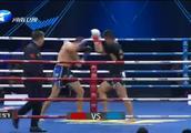 硬汉孙维强暴力后手拳险将罗萨里奥KO,强势表现赢得比赛胜利
