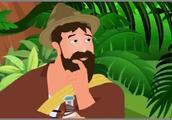 童话故事《聪明的渔夫》:渔夫巧使小计,将自大恶魔再次制服!