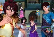 精灵梦叶罗丽:王默思思加入战斗,四仙子变身形态齐聚