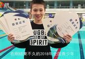 """青岛有个小""""孙杨"""":全国游泳比赛一口气拿了8个冠军"""