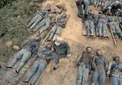 一场战场过后,新四军的遗体排成了排,战争太惨惨烈了