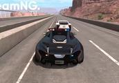 BeamNG:史诗级极端车祸瞬间模拟还原,细节完美体现!