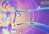 魔法俏佳人:她们去往彩虹中心,这里的噪音太大,妙莎感到很虚弱