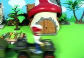 大木桩压坏了猪爸爸的农田 汪汪队和超级飞侠都无能为力