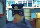 宇宙护卫队:老鹰阿吉看到一个移动的不明物体,竟然是一只企鹅!