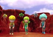 激战奇轮2-小萨他们来到火焰山寻找配件面具人尾随其后要阻拦他们