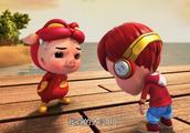 猪猪侠:猪猪侠大战坏蛋,却被打惨了,小男孩机智救了猪猪侠!