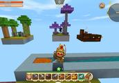 迷你世界:神器空岛生存,半仙大战各个岛上的守护神,争夺神器!