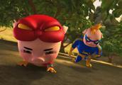 猪猪侠:猪猪侠超人强变身,大战遗忘战士,太好看了!