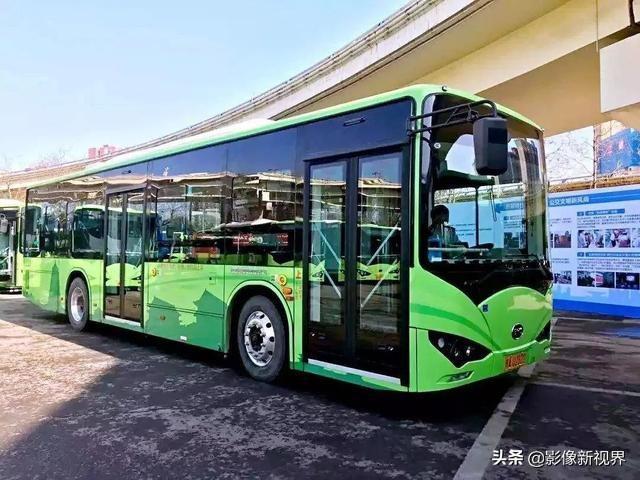 目前西安纯电动公交越来越多