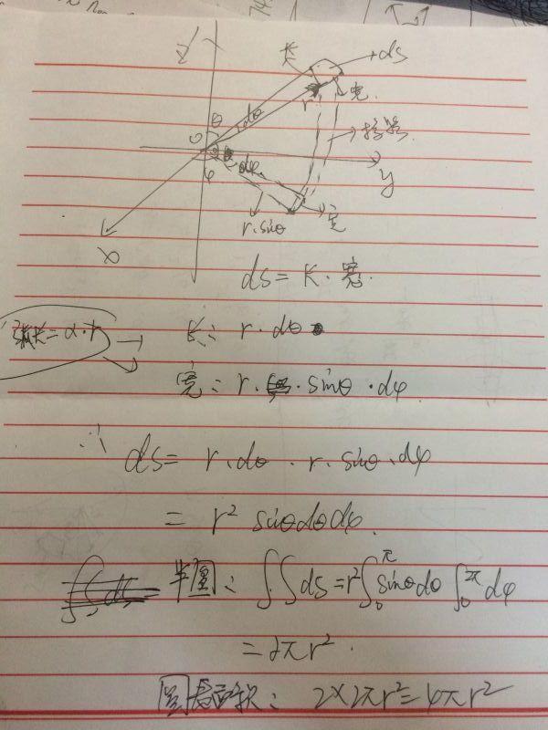 球的体积与其表面积_球体表面积公式