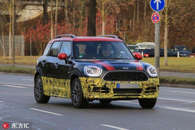 Mini Countryman JCW谍照曝光 2017年初上市
