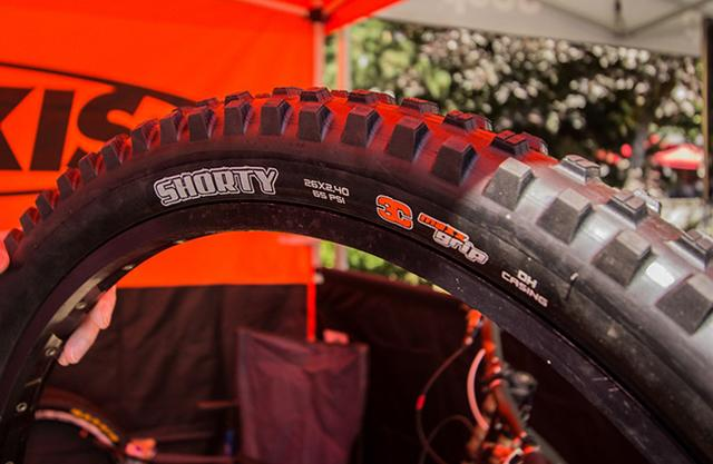 Maxxis Shorty 3C DH外胎简评